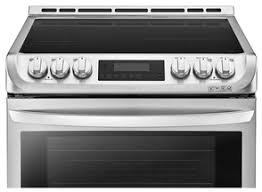 lg induction range. lg stainless steel 30 inch slide-in induction range with true convection lg t