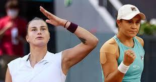 Barty v Sabalenka: The WTA's two ...