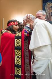 Image result for pope john paul II africa animist pagans