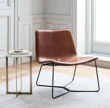 west elm slipper chair inspirational slope leather lounge chair west elm furniture chair photograph