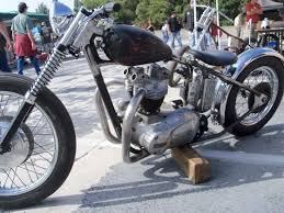 classic british choppers classic triumph choppers old school