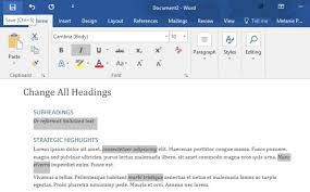 How To Select All Text With Similar Formatting In Microsoft