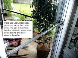 patio door lock bar sliding patio door security locks ideal security inc patio door security bar patio door lock