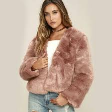 winter women solid fluffy hair faux fur coat black white green pink wine red plus sizestreet lady fur jacket faux fur b o y g r l