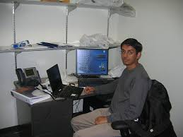 photo san diego office. my friend working in his qc office qualcomm san diego ca photo