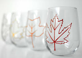 stemless wine glasses canada
