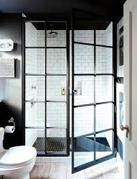 hinge glass shower door