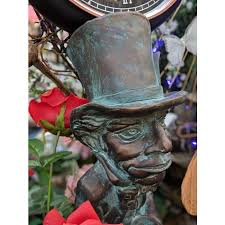 the mad hatter garden sculpture enlarge the
