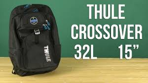 Распаковка <b>Thule</b> Crossover 32L MacBook Backpack Cobalt 15 ...