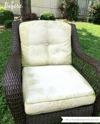 how to clean patio cushions with mildew remove stains from