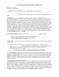 Free Printable Real Estate Sales Contract Salesagreementtemplatefree Free Real Estate Purchase 5