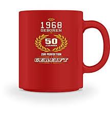 T Shirt Sprüche Zum 50 Geburtstag 1968 Geboren Geschenk Zum 50
