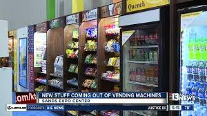 Vending Machine Convention Las Vegas 2017 Stunning New Vending Machines On Display At Annual Show KTNV Las Vegas