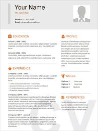 Modern Simple Resume Template Unforgettablele Free Resume Template Modern And Cv Psd Sample