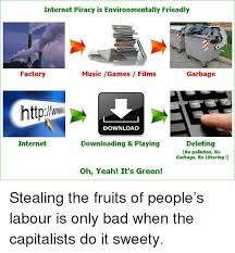 Internet Piracy Is Environmentally Friendly Factory Music Games