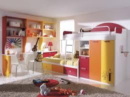 Children Bedroom Furniture Designs Astounding Bright Children Bedroom Furniture With White Wall Paint