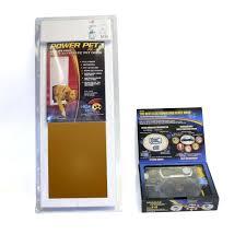 electronic dog doors. High Tech Pet Power Large Electronic Door Plus Humane Contain Dog Fence Doors T