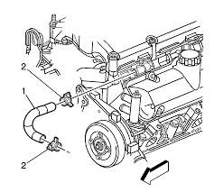 Equinox 2007 chevrolet equinox manual repair instructions thermostat bypass hose replacement 2007