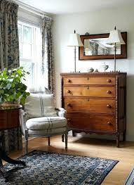 bedroom with black furniture. Farmhouse Style Bedroom Furniture Guest Corner In Home Of Designer  With Black