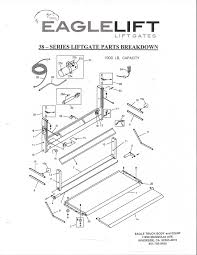 Eagle truck body and equipment manufactures truck bodies and eagle liftgate series 38 parts diagram at ignition wiring diagram
