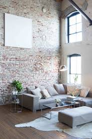 the brick living room furniture. Brick Wall In Living Room The Furniture U