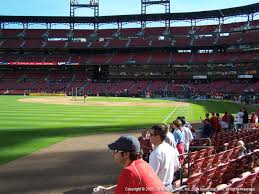 Busch Stadium View From Dugout Box 167 Vivid Seats