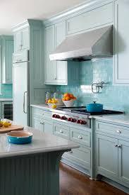 Blue Tiles For Kitchen Turquoise Kitchen Backsplash Ideas Quicuacom