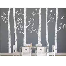 birch tree mural birch tree wall decal