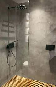shower base medium size of stupendous concrete image ideas installation on for tile lyons industries trackless