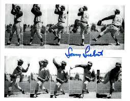Autographed Signed Sonny Siebert 8X10 Cleveland Indians Photo