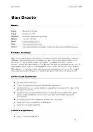 Different Types Of Resumes Examples Three Types Of Resume Formats