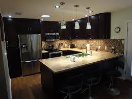 Kitchen Cabinet Espresso Color Painted Kitchen Cabinets Espresso Quicuacom