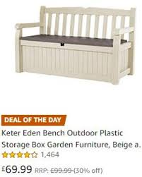 outdoor plastic storage box