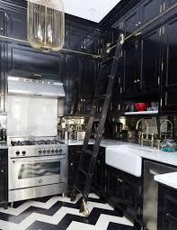 Nastasi Vail Design Intense Elegant Look In This Brooklyn Brownstone Kitchen By