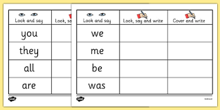 Writing Practice Worksheet Tricky Words On Writing Practice Worksheets Trick Worksheet