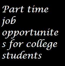 how online benefits college students to earn money devoid of  part time jobs for college students