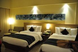 Twin Double Bed Room Picture Of Courtyard By Marriott Bali Nusa With Decor 5