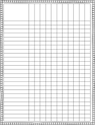 blank chart template for teachers. Blank Charts For Teachers Chart Template P