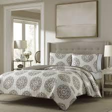 75 best Quilts images on Pinterest   Quilt sets, Bedding sets and ... & Stone Cottage Medallion Reversible Quilt Set Adamdwight.com