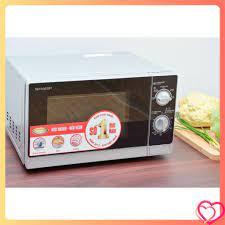 Lò vi sóng Sharp RG205VN 20 lít nấu, hâm nóng, rã đông (Hàng mới nguyên  hộp)