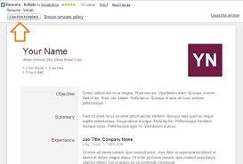 resume google docs templates