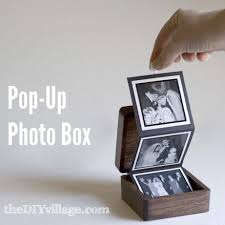 pop up photo box gift idea by thediyvillage