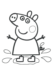 Peppa Pig Coloring Sheets Antiatominfo