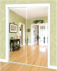 mirrored bypass closet doors sliding mirror for bedrooms design panels space age with