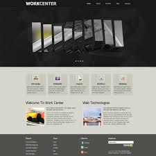 Free Dreamweaver Website Templates Template 24 Work Center 15