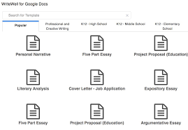 writewell for google docs classroom tips  what is writewell for google docs