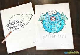 These under the sea creatures are perfect for younger kids to colour and would be perfect to be. Free Fish Coloring Pages For Kids