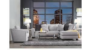gray living room furniture. Ashford Landing Gray 5 Pc Sectional Living Room Furniture N