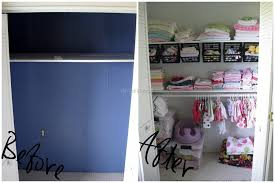 nursery closet update