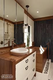 Custom Cabinets Washington Dc Custom Teak Wood Vanity Top For A Bathroom In Washington Dc